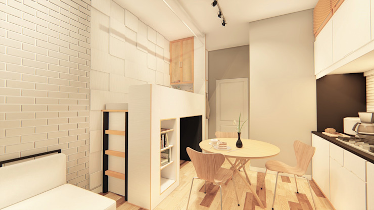Kitchen by LI A'ALAF ARCHITECT,