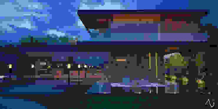 21arquitectos Casas de estilo minimalista