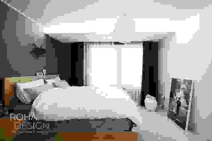 부산 신혼집 인테리어 – 24평 아파트 인테리어 스칸디나비아 미디어 룸 by 로하디자인 북유럽