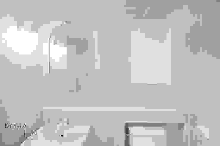 부산 더샵센텀파크 인테리어 – 40평 아파트 인테리어 모던스타일 욕실 by 로하디자인 모던