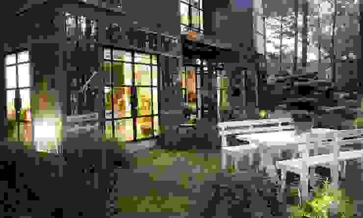thiết kế sân vườn biệt thự nghỉ dưỡng Dalat hiện đại Eden bởi CÔNG TY THIẾT KẾ NHÀ ĐẸP SANG TRỌNG CEEB Hiện đại