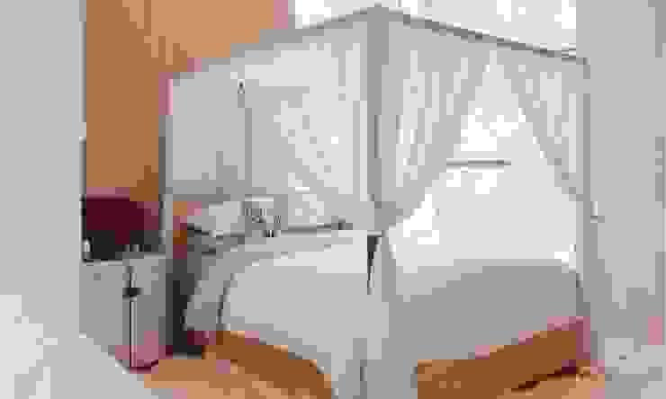 thiết kế biệt thự nghỉ dưỡng Dalat hiện đại Eden Phòng ngủ phong cách hiện đại bởi CÔNG TY THIẾT KẾ NHÀ ĐẸP SANG TRỌNG CEEB Hiện đại