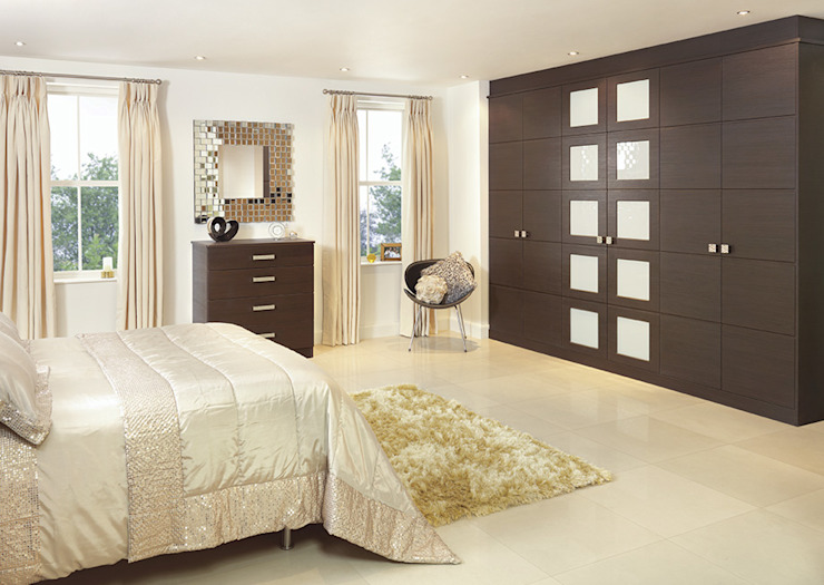 Modern Fitted Bedrooms London de Metro Wardrobes London Moderno