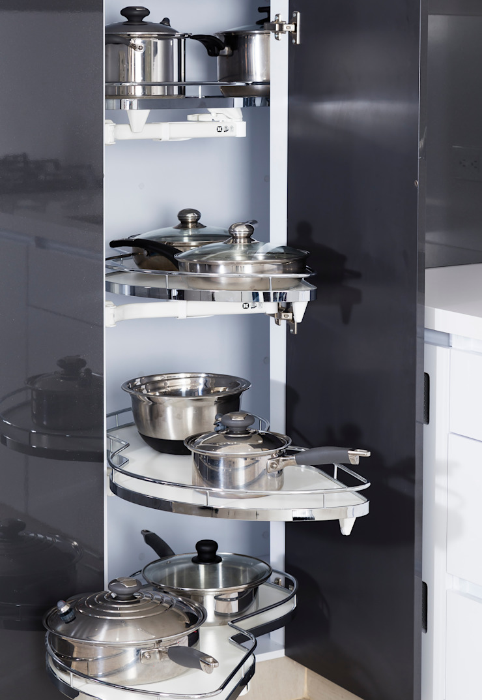 Cocina de Mentha Moderno Aglomerado