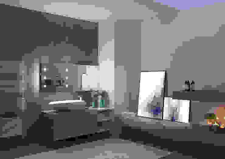Specchi con tecnologia iLight Unica by Cantoni Spogliatoio moderno