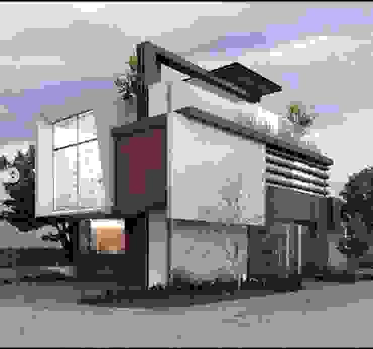 Casa Mallorca :  de estilo  por EBA Architecture & Desing