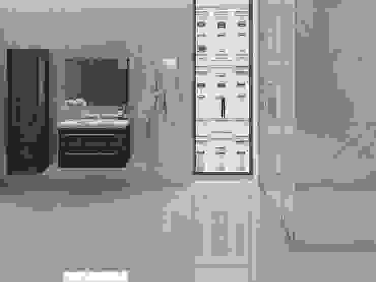 Interceramic MX Minimalist bathroom Ceramic White