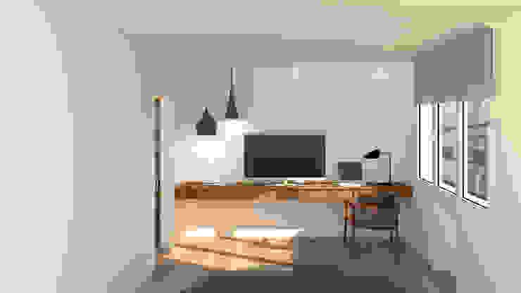 arQmonia estudio, Arquitectos de interior, Asturias 臥室