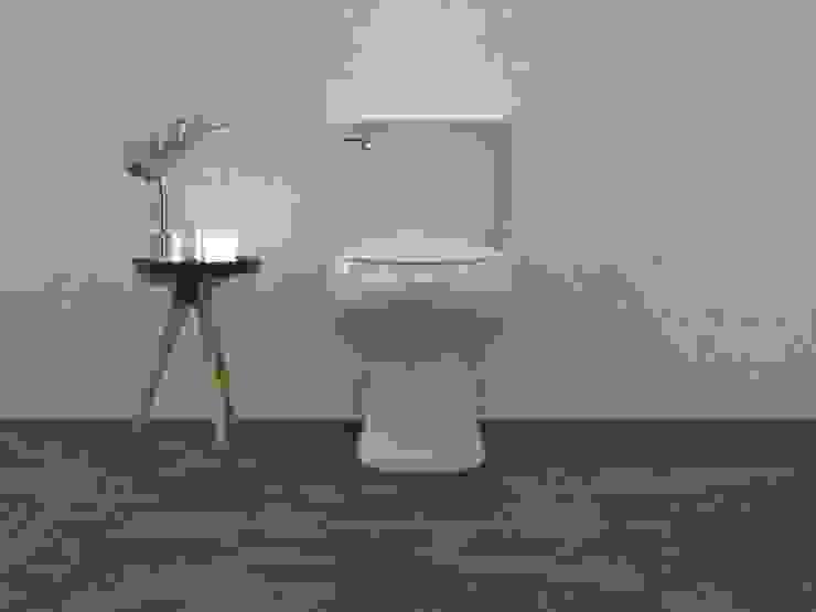 Interceramic MX Minimalist style bathroom Ceramic Grey