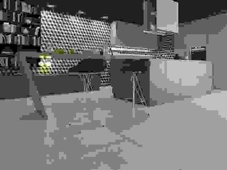 Cocina decorado multicolor Interceramic MX Cocinas modernas Cerámico Multicolor