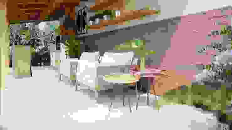 by Studio MP Interiores Rustic Solid Wood Multicolored