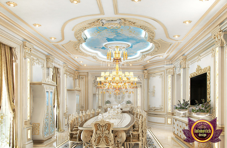 Beautiful Ideal Dining Room Design Ideas by Luxury Antonovich Design