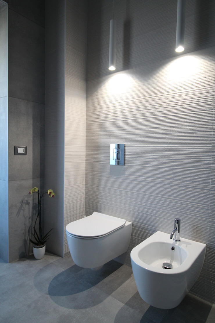 Giuseppe Rappa & Angelo M. Castiglione Modern bathroom