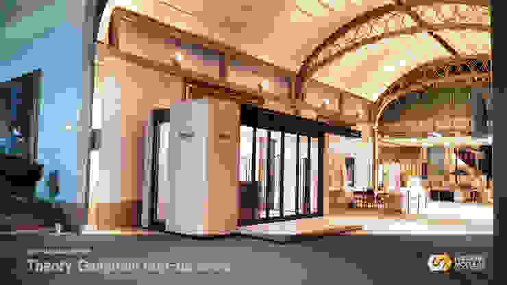 강남점 모던 스타일 쇼핑 센터 by 한성모듈러(주) 모던