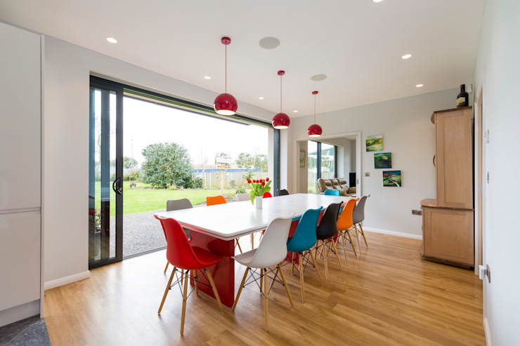 Dining room by Townscape Architects,