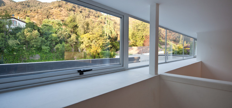 Ventanas con marco de aluminio [ER+] Arquitectura y Construcción Puertas y ventanas minimalistas
