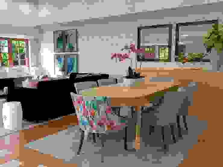 Proposta para sala de jantar - imagem 3D por Palma Interiores