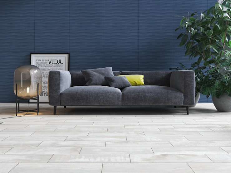 Interceramic MX Modern living room Ceramic Blue