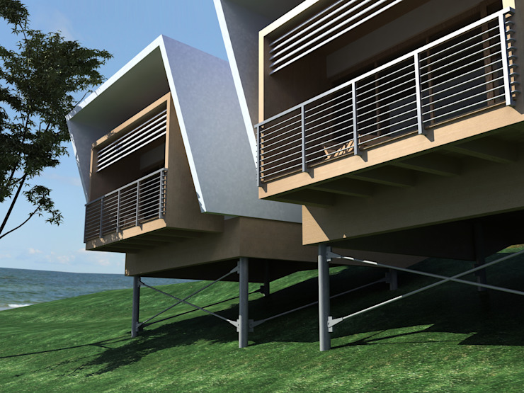 Bungalows by Ing. Massimiliano Lusetti,