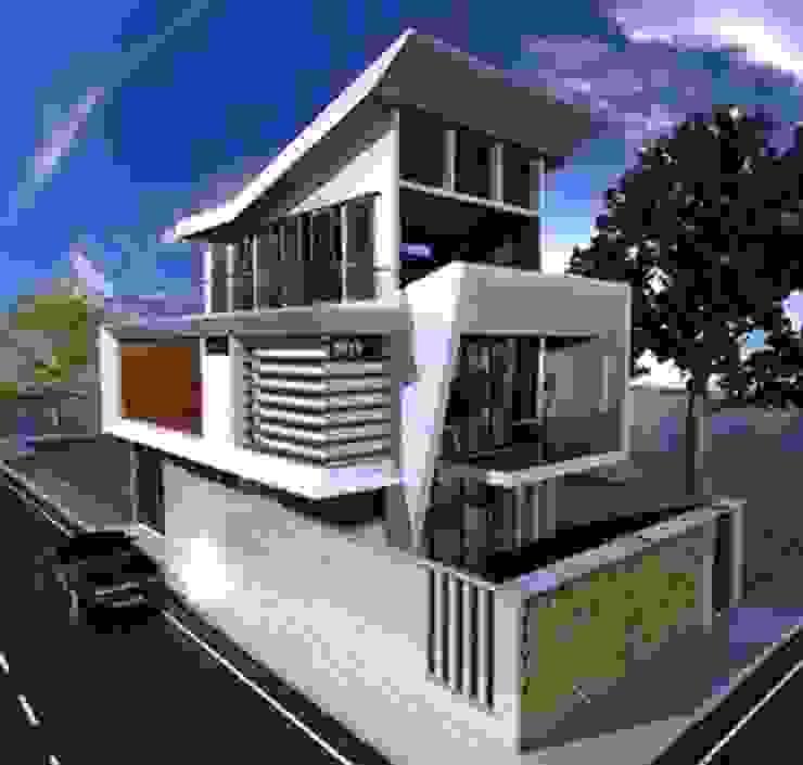 Casa Margery de ZETA CONSTRUCTORES LTDA Moderno