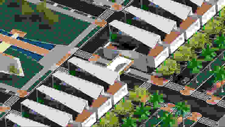 ITIBANA - ÁREA COMERCIAL de ZETA CONSTRUCTORES LTDA Moderno