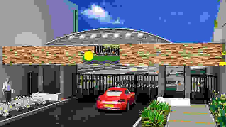 ITIBANA - PORTERÍA de ZETA CONSTRUCTORES LTDA Moderno