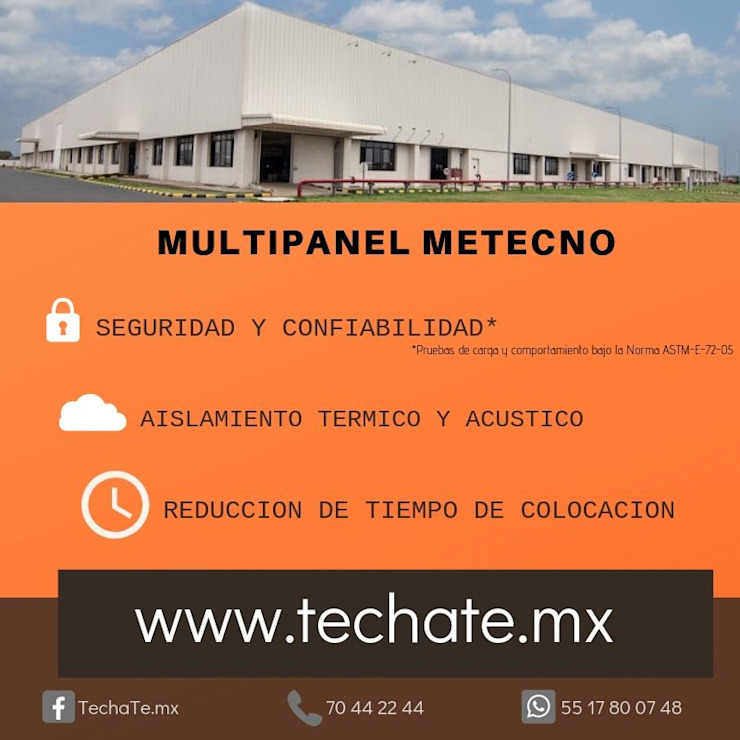 TechaTe Flat roof