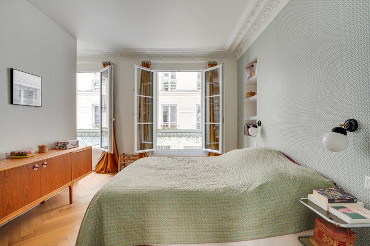 Agence KP ห้องนอนขนาดเล็ก Green