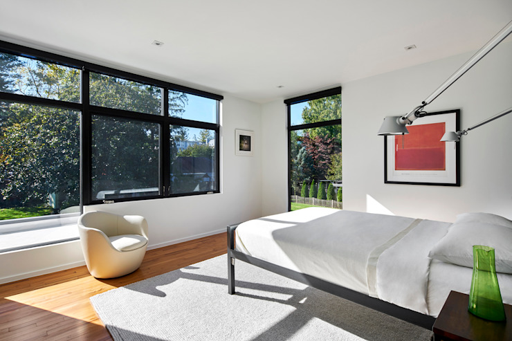 KUBE architecture Modern style bedroom