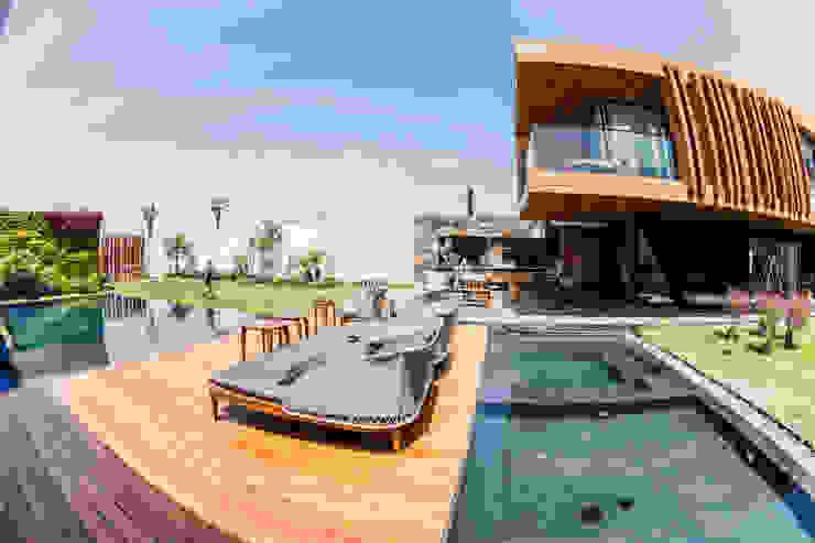 โดย DOF Arquitectos โมเดิร์น ไม้ Wood effect