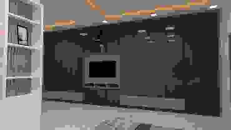 3 BHK Interior designing: modern  by Vadhia Interiors Pvt Ltd,Modern