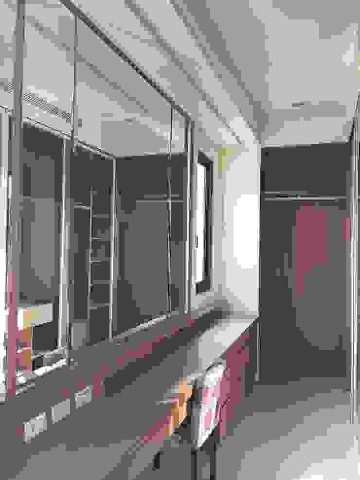 更衣室 根據 houseda 隨意取材風 合板