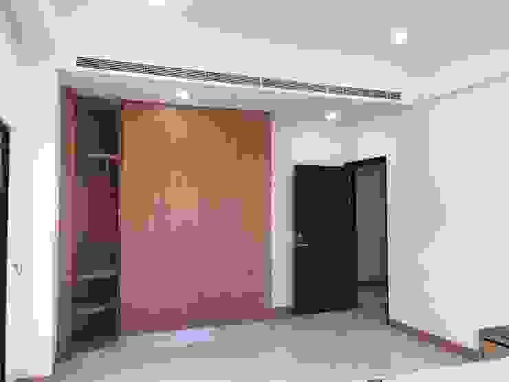 更多的收納空間:  臥室 by houseda