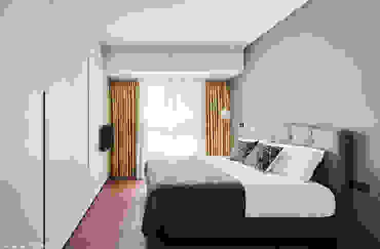 Minimalistische slaapkamers van 思維空間設計 Minimalistisch