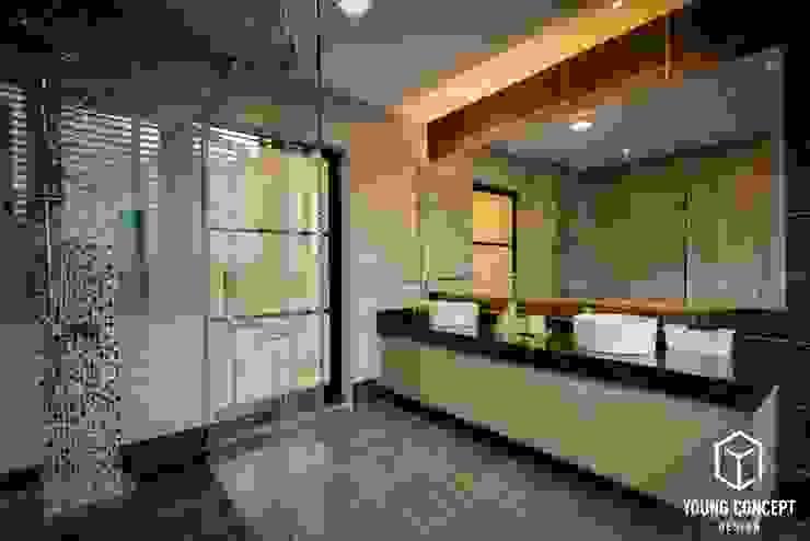 Young Concept Design Sdn Bhd Modern bathroom