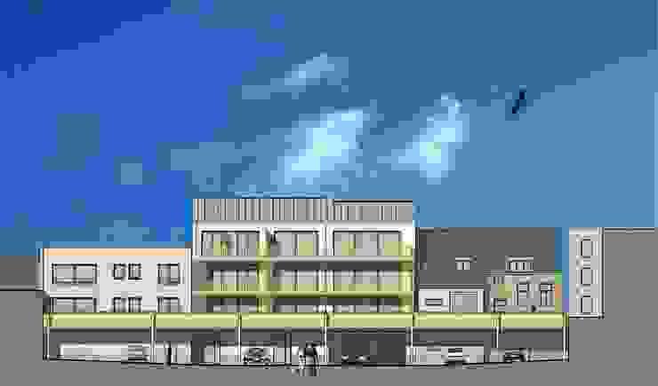 Winkels en appartementen, Valkenburg a/d Geul Klassieke huizen van Verheij Architecten BNA Klassiek