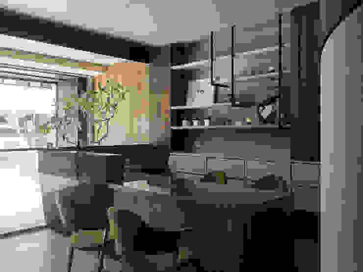 苗栗牙醫診所專案 根據 上竹室內裝修工程有限公司 工業風