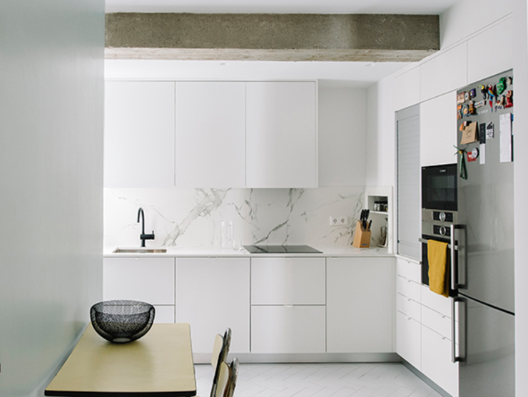 Cocina de nimú equipo de diseño Moderno Aglomerado
