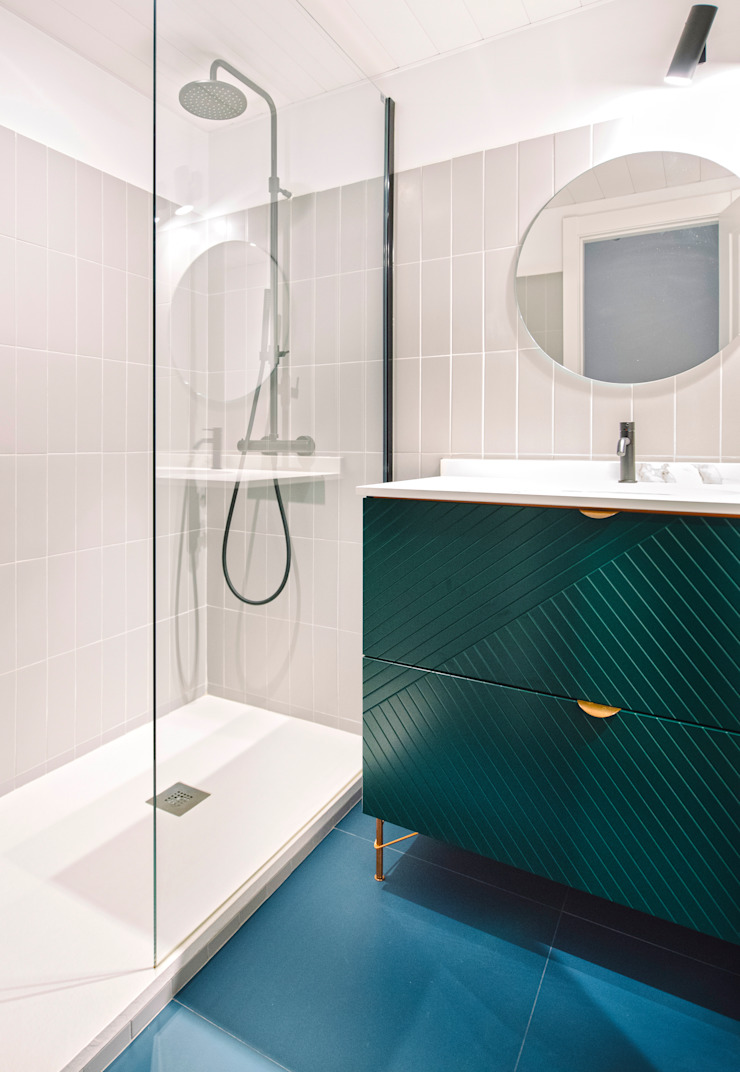 Baño Baños de estilo moderno de nimú equipo de diseño Moderno