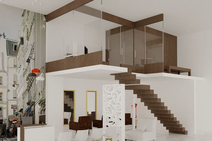 Living Room Design Ideas in Pune City by Yogita Singh