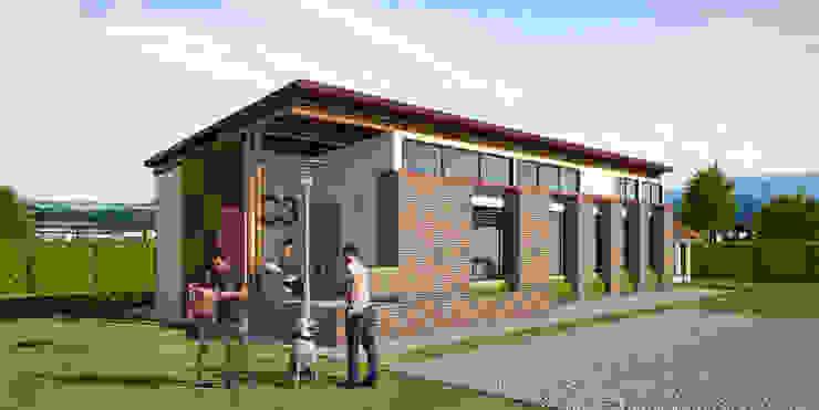 Propuesta Arquitectónica de Solsiem Constructora SAS Moderno