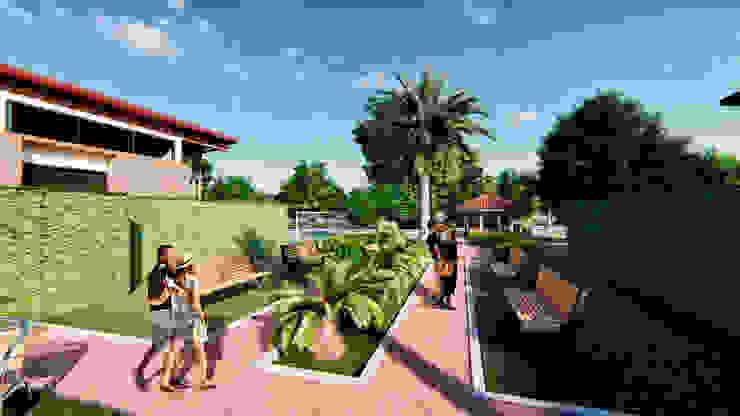 Propuesta Urbanística 3 de Solsiem Constructora SAS Moderno