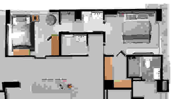 Remodelación Apartamento Le Mirage de Visualizacion Arquitectura