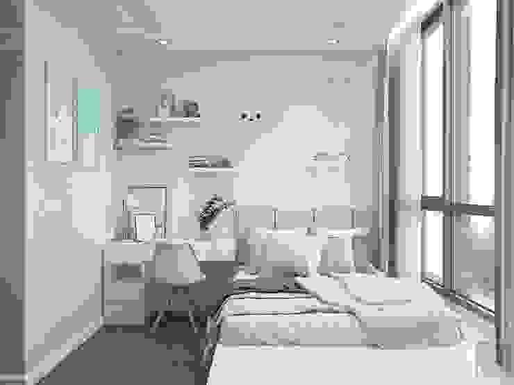 THIẾT KẾ TẬN DỤNG MỌI KHÔNG GIAN – Căn hộ Park 7 Vinhomes Central Park Phòng trẻ em phong cách hiện đại bởi ICON INTERIOR Hiện đại