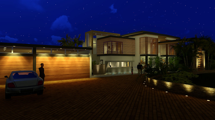 House Design -Flow of Spaces by Deon Smith Architects