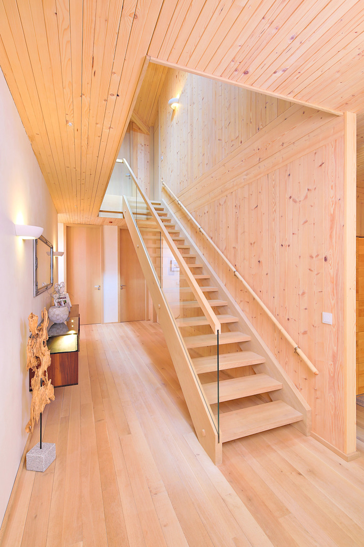 by BRUNTHALER Massivholzhaus Modern