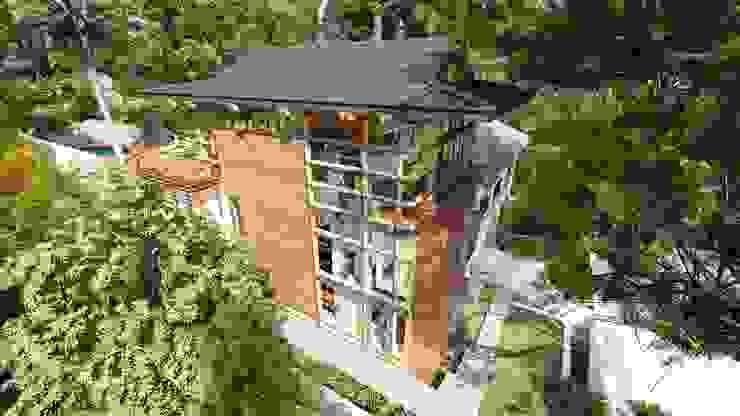 Albert Road, Tamboerskloof Modern houses by Inline Spaces Pty Ltd Modern