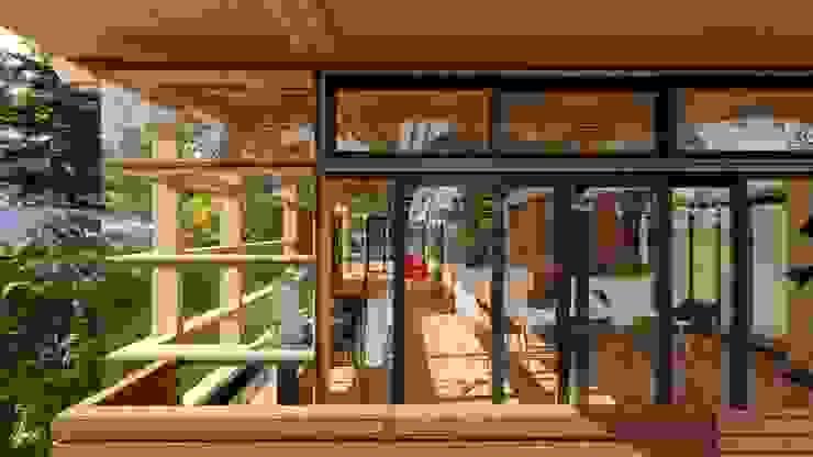 homify Modern windows & doors