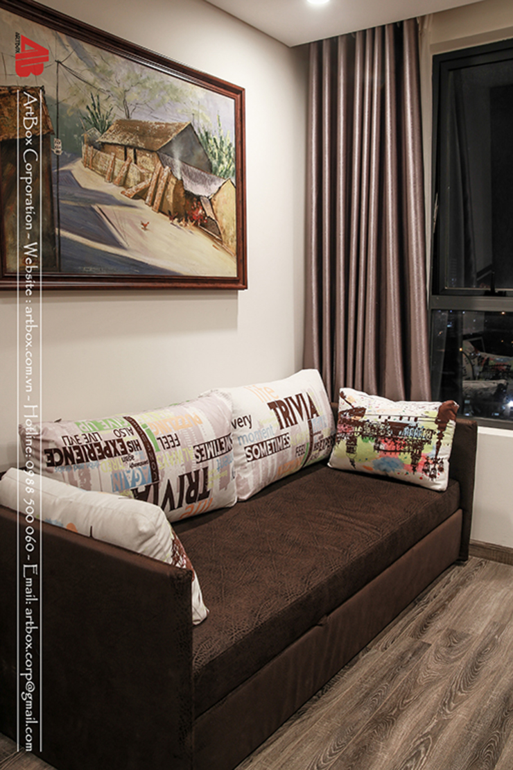 Thiết kế nội thất chung cư HongKong Tower bởi Thiết Kế Nội Thất - ARTBOX