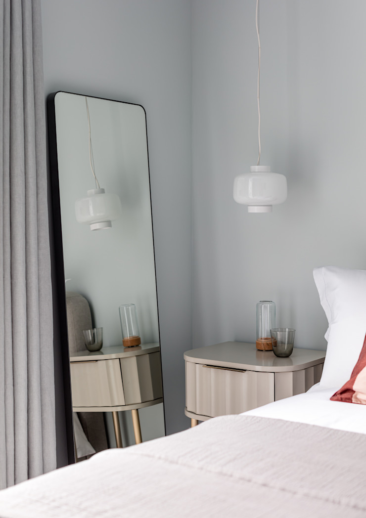 Residential Design by WN Interiors Scandinavian style bedroom by WN Interiors Scandinavian